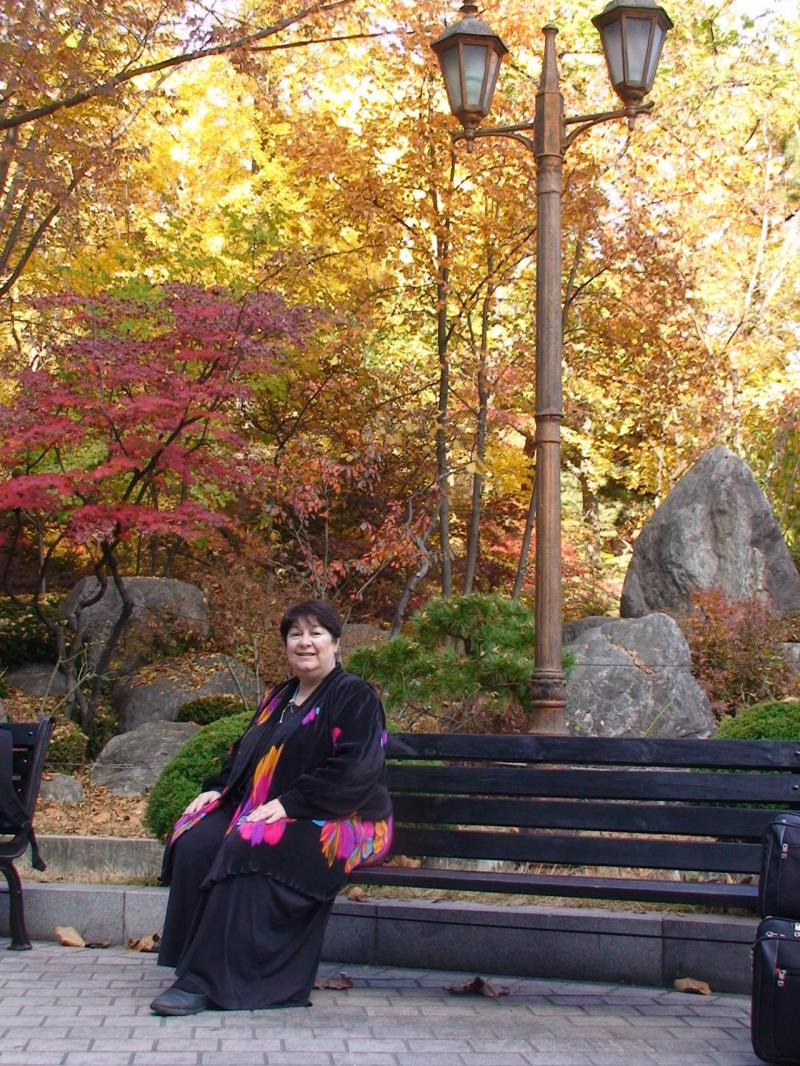 Mary Collins, KHU campus, Fall 2008